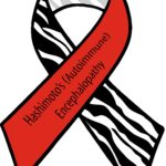 Hashimoto's (Autoimmune) Encephalopathy awareness ribbon