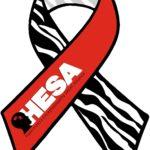 HESA awareness ribbon